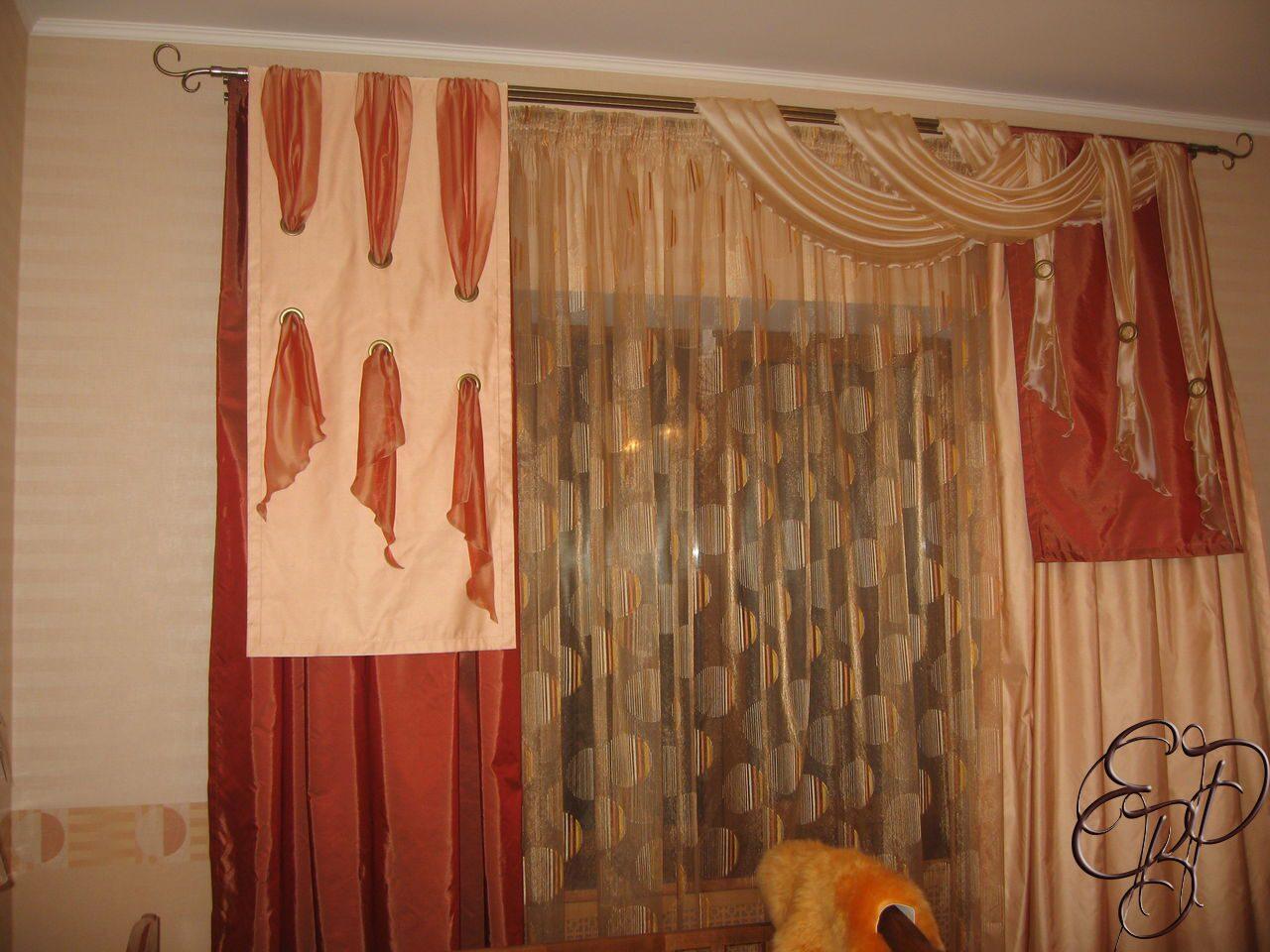 Дизайн штор для гостинойальбом