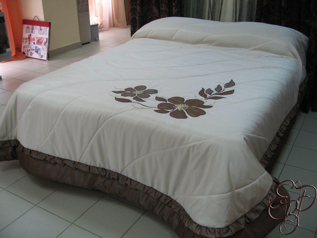 Как сшить самой красивое покрывало на кровать 73
